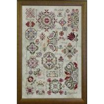 Spring Quakers Sampler PatternPlus™ Counted Cross Stitch Kit
