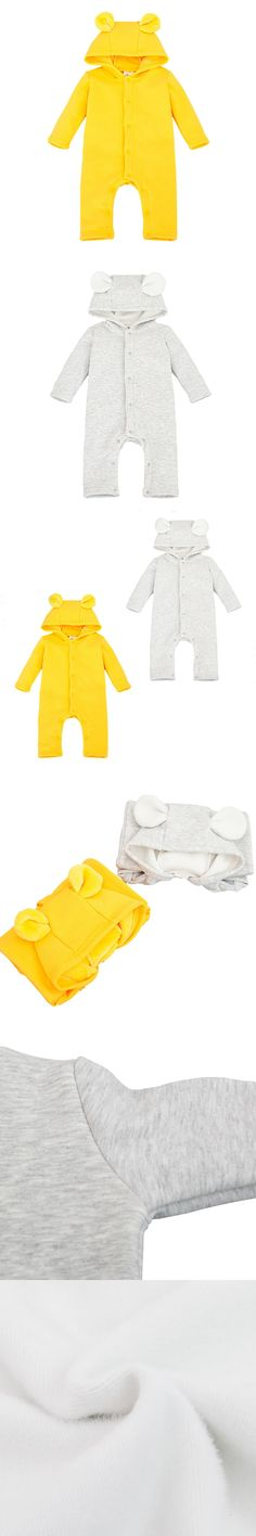 Winter Flannel Thick Warm Hoode Baby Rompers baby Long Sleeve Jumpsuits Newborn Infant Boys Girls Autumn Clothes