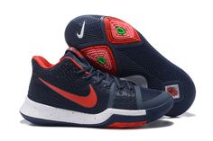 sports shoes c1521 adee3 Nike Kyrie 3 Authentic Nike Kyrie 3 Royal Blue Black Shoe For Cheap    Things In Sale   Pinterest   Black shoes, Royal blue and Royals