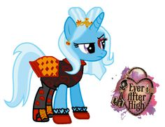Trixie Lulamoon as Lizzie Hearts by ThunderFists1988 on DeviantArt