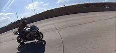 Here's an insane motorcycle crash at 140mph from the motorcyclist's POV