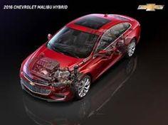 2016 Chevrolet Malibu Hybrid profile