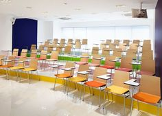 Colourful School In Japan | HomeKlondike.com - Home Interior Design, Architecture and Decorating Ideas