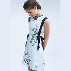 Main Image - Ted Baker London Sipnela A-Line Dress Office Fashion, Work Fashion, Fashion Design, Curvy Fashion, Street Fashion, Trendy Fashion, Fall Fashion, Fashion Trends, Pretty Dresses