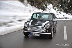 Classic Mini Cooper in Innsbruck, Austria