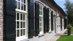 Shutters, Beautiful Homes, Brick, Garage Doors, Villa, Farmhouse, Cottage, Windows, Interior