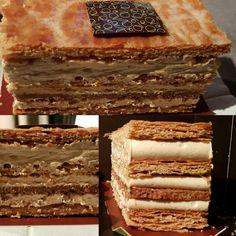 Balade autour des #millefeuilles avec un #millefeuille #praliné signé @oliviervidal_chocolaterie ...Un #poeme à lui tout seul. Le craquant, la crème pralinée et l'insertion praliné qui sublime le tout ! Un de mes meilleurs #souvenirs d' #Auxerre assurément 🖒 ! Bravo à @oliviervidal_chocolaterie  pour ce beau et bon #dessert. #pastry #patisserie #cream #cake #gateau #dessert #chocolaterie #pastrychef  #Auxerre #bourgogne #pictures #picoftheday #photooftheday