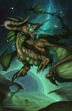 Zodiac Dragon, Taurus; Dragons