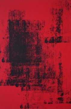 HELEN  - Here and There (Deep Red II), acrylic on canvas. 2009
