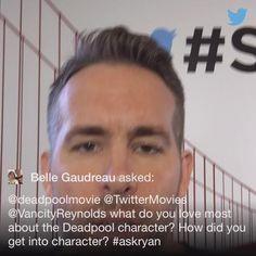 "Ryan Reynolds na Twitterze: "".@BelleRinger1 #AskRyan https://t.co/gA9eTAdlkg"""