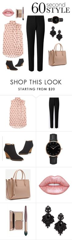 """Untitled #3"" by adela-fashion ❤ liked on Polyvore featuring Valentino, Topshop and Tasha"