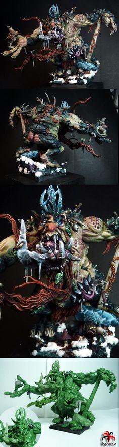 Throgg The Troll King (scratchbuilt)