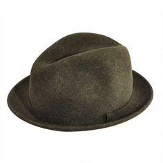403985dd8d093 Litefelt® Charlie Stingy Brim Fedora. Fedora Hat. Pantropic LiteFelt