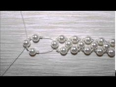 Tutorial orecchini in tessitura di perline #bijoux #handmade #earrings - YouTube
