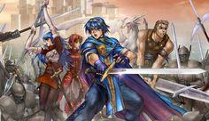 Fire Emblem: Shadow Dragon Screen on http://www.majestichorn.com/2012/03/fire-emblem-shadow-dragon-screen/