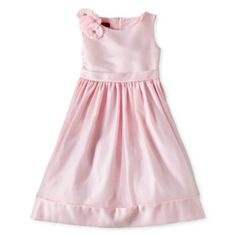 b06ab0f509 Princess Faith Sleeveless Shoulder Flower Applique Dress – Girls 7-12 found  at  JCPenney