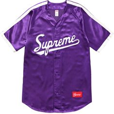 Designer Clothes, Shoes & Bags for Women Jersey Shirt, Baseball Jersey Outfit, Baseball Jerseys, 8th Grade Outfits, Satin Shirt, Dope Outfits, Wardrobes, Shirt Outfit, Supreme