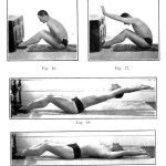 100-year-old workout routine... looks like Pilates before Joseph Pilates knew about it!