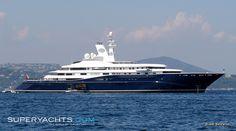 Superyacht 7 - Al Mirqab. Owner : Hamad bin Khalifa al-Thani. Emir of Qatar. $250 million