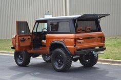 Custom Early Ford Bronco Restorations custom Bronco restorations and custom fabrication and welding Old Ford Bronco, Bronco Truck, Early Bronco, Jeep Truck, Classic Bronco, Classic Ford Broncos, Classic Trucks, Classic Cars, Cool Trucks