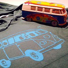 Grey fleece with VW vagon from SUN68 Stor in Brescia SUN68 Man SS15 #SUN68 #SS15 #man #sweater #surf #fashion #SUN68brescia
