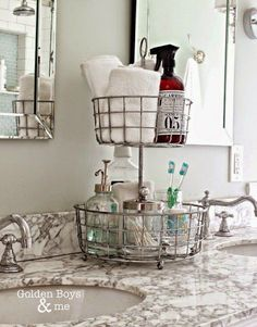 something similar to this to help get counter space clear #interiordecoronabudgetikeahacks