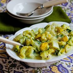 My Moms Creamed Zucchini Recipe (revealing a Denny Family secret!) [from KalynsKitchen.com]