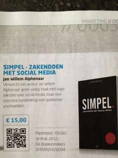 Tilroe Optiek @TilroeOptiek    Dit boek is een aanrader... #simpel