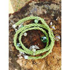 Boho Infinity Circle Charm Triple Wrap Bracelet suede cord Handmade... (€8,59) ❤ liked on Polyvore featuring jewelry, bracelets, boho bangles, circle charm, bohemian jewelry, infinity jewelry and suede wrap bracelet