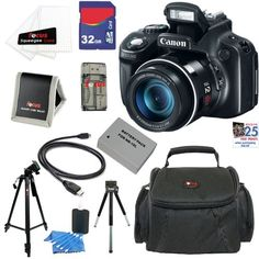 Quick and Easy Gift Ideas from the USA  Canon PowerShot SX50 HS 12.1 MP Digital Camera with 50x Optical IS Zoom + NB-10L Battery + 9pc Bundl http://welikedthis.com/canon-powershot-sx50-hs-12-1-mp-digital-camera-with-50x-optical-is-zoom-nb-10l-battery-9pc-bundl #gifts #giftideas #welikedthisusa