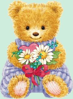 Lues-Pleasure photos: Just for You - Teddy Bear Images, Teddy Bear Pictures, Tatty Teddy, 2 Clipart, Country Bears, Love Bears All Things, My Little Nieces, Bear Illustration, Bear Wallpaper