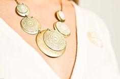 grecian vintage necklace