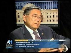 Oral Histories Preview: Former Congressman Norman Mineta