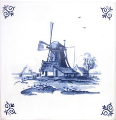 Source of inexpensive delft tile