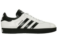 Adidas Gazelle White With Black Stripes