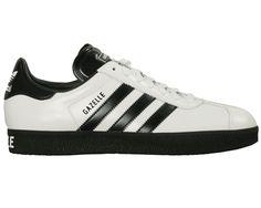 Adidas Gazelle White With Black Stripes