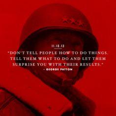 Wisdom of George Patton