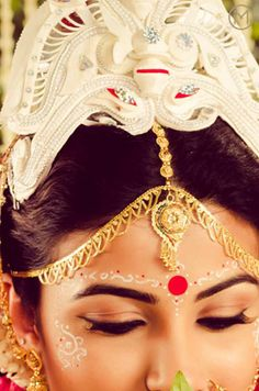 So Pretty - A Bengali Bride #India