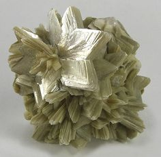 Muscovite, also referred to as common mica or isinglass (Note that the term Muscovite may also be used to refer to an inhabitant of Moscow or of the historical Muscovy)