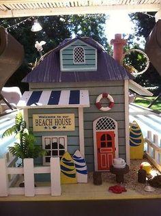 Beach House Birdhouse