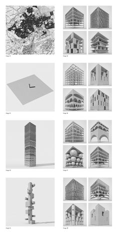 """""""THE NEW TOWER OF BABEL"""" HONORABLE MENTION EVOLO SKYSCRAPER COMPETITION NOVEMBER…"""