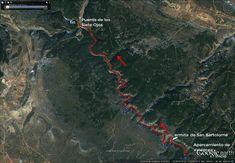 Senda del Río. Cañón del Río Lobos. Soria.