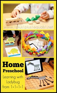 Homeschool #Preschool from @{1plus1plus1} Carisa {Speilgaben, Integrity Time, All By Myself Preschool boxes, Sensory Play and more!}