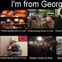 Yep, I'm from Georgia!