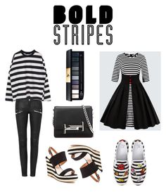 """bold stripes #1"" by gracefelicia on Polyvore featuring French Blu, Tod's and BP."