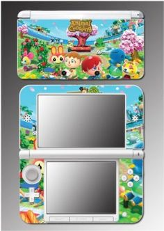 Animal Crossing New Leaf City Folk Video Game Vinyl Decal Cover Skin Protector for Nintendo XL Animal Crossing Villagers, Animal Crossing Pocket Camp, Animal Crossing Game, Wii, Playstation, Style Kawaii, Ds Xl, Sweet Games, Custom Consoles