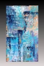 Resultat d'imatges de cuadros abstractos turquesa