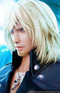 Snow Villiers Final Fantasy XIII Lightning Returns by ceriselightning