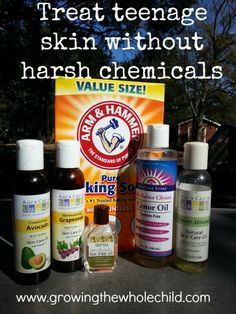 treat teenage skin without harsh chemicals
