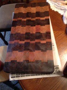 Favorite pattern by Jeff Moore End Grain Cutting Board, Cutting Boards, Butcher Block Cutting Board, Woodworking Jigsaw, Butcher Blocks, Pattern, Crafts, Inspiration, Design